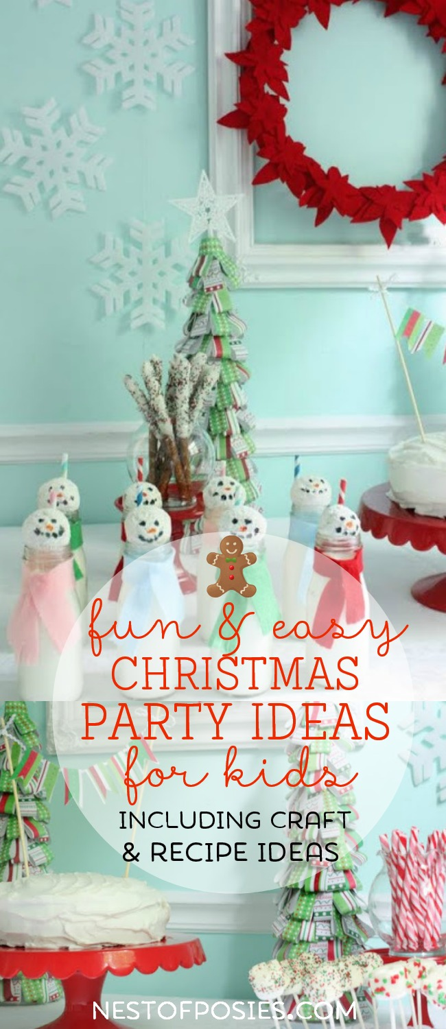 christmas party craft ideas tablescape ideas for nest of posies 3639