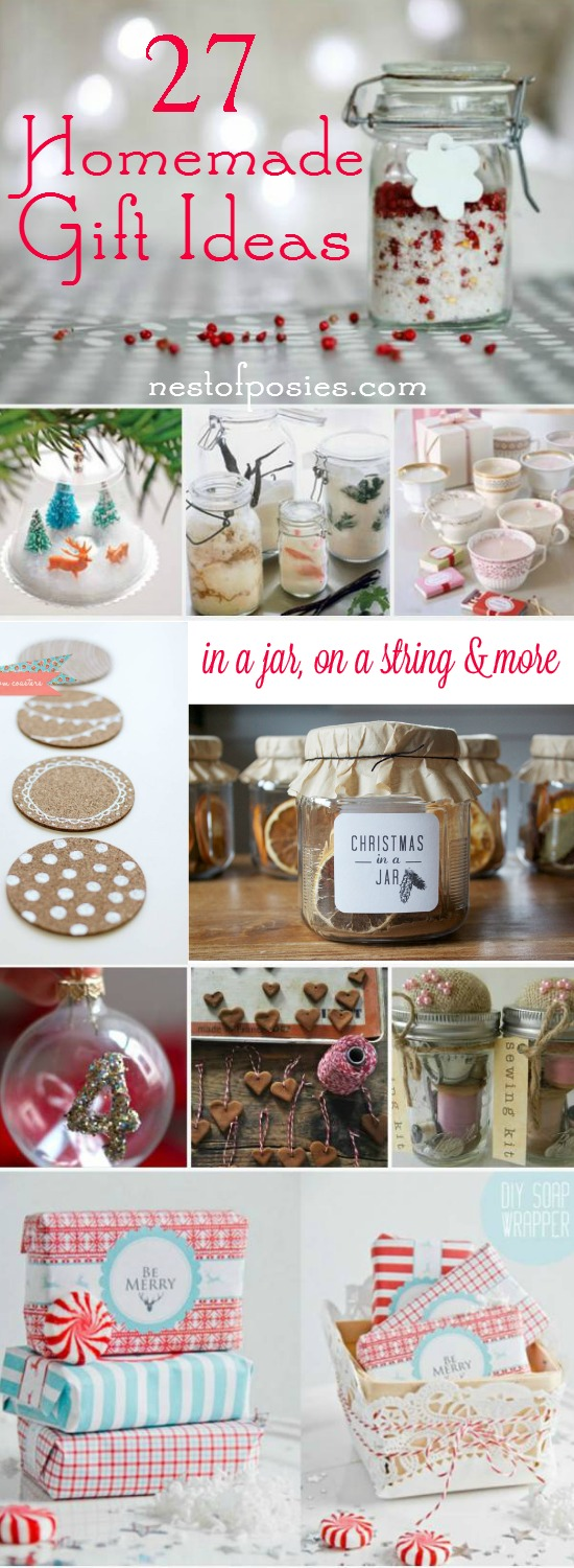 Homemade gift ideas for christmas for Christmas present homemade gift ideas