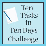 10 tasks in 10 days challenge