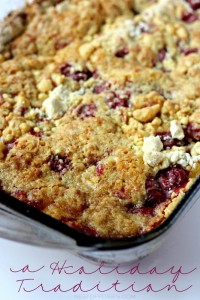 A Holiday Tradition ~ Cherry Dump Cake