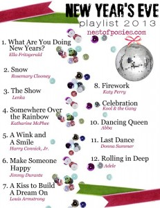 Happy New Year's Eve 2013 Playlist
