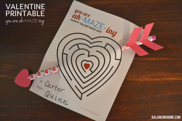 Valentine You are Ah-MAZE-ing