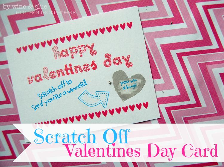 Scratch Off Valentine Day Cards