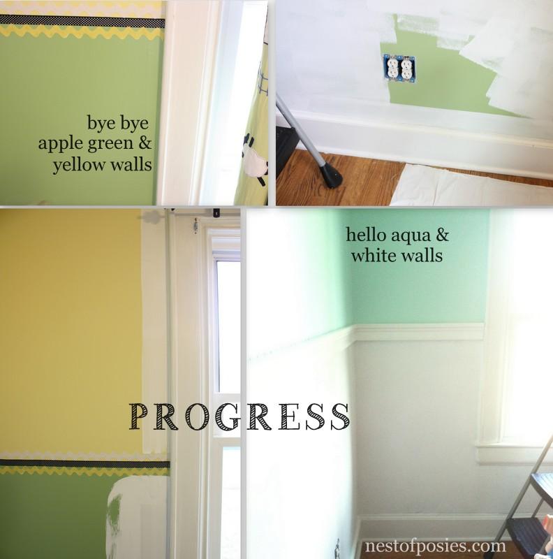 Making Progress - Boys' room redo