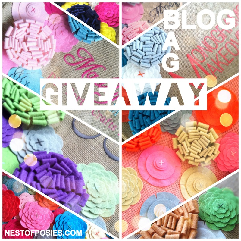 Nest of Posies Blog or Business Bag Giveaway!