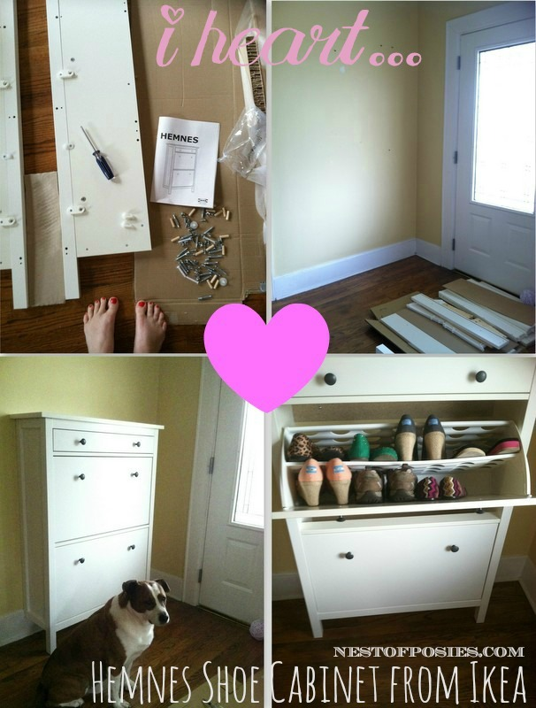 Genial Hemnes Shoe Cabinet From Ikea Via Nest Of Posies