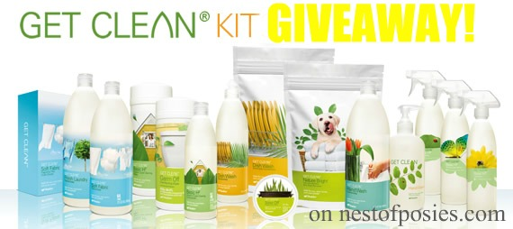 a Shaklee Get Clean Giveaway from Nest of Posies