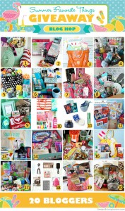Summer Favorite Things Giveaway & Blog Hop