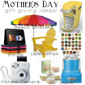Mother's Day Gift Giving Ideas