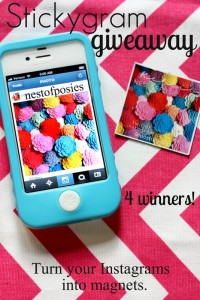 A Stickygram Giveaway AND Instagram HOP Link Party