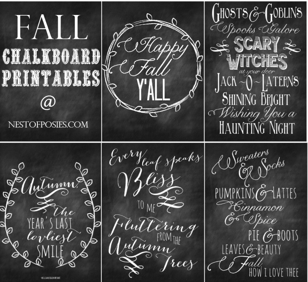 Fall Chalkboard Art Ideas | www.pixshark.com - Images ...
