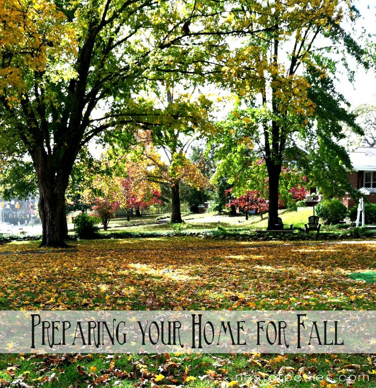 Preparing your home for the colder months for Fall home preparation