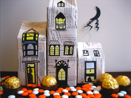 Cereal Box Haunted House