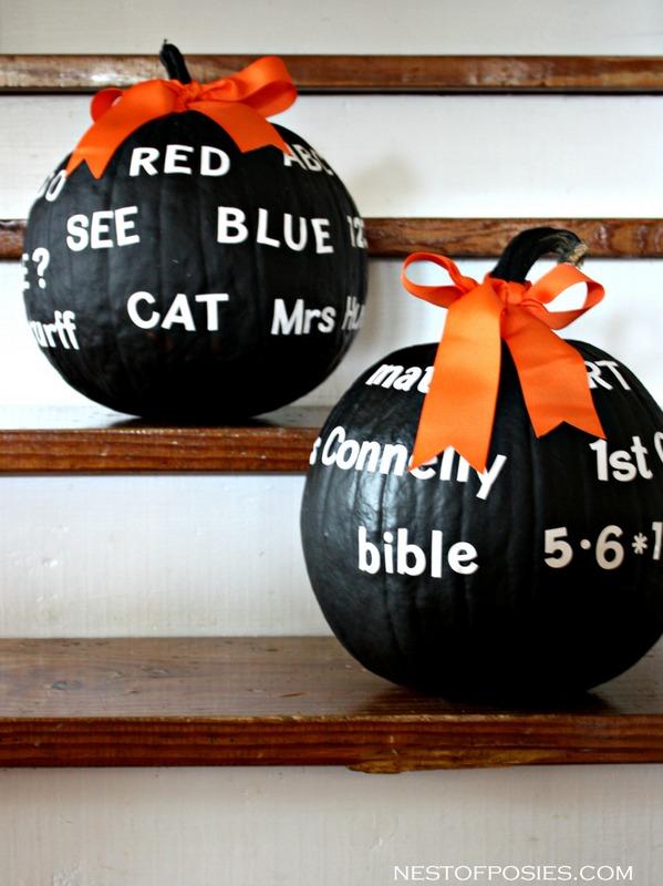 Pumpkins for Teachers using sight words, popcorn words & math