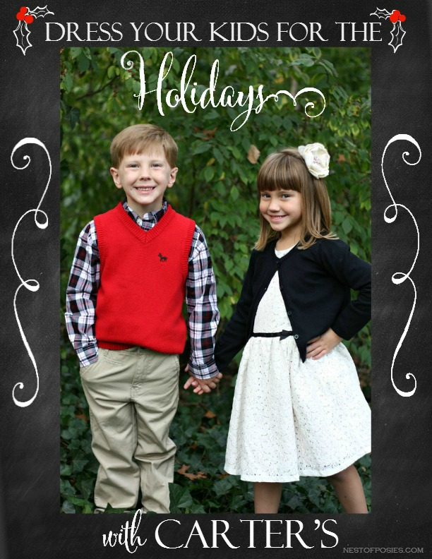 Dress Your Kids for the Holidays with Carter's