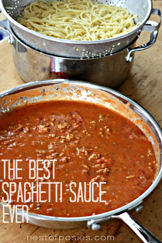 How to make best red pasta sauce creamy