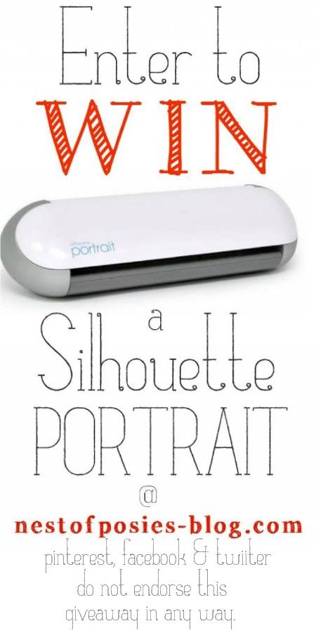 Enter to win a Silhouette Portrait Machine
