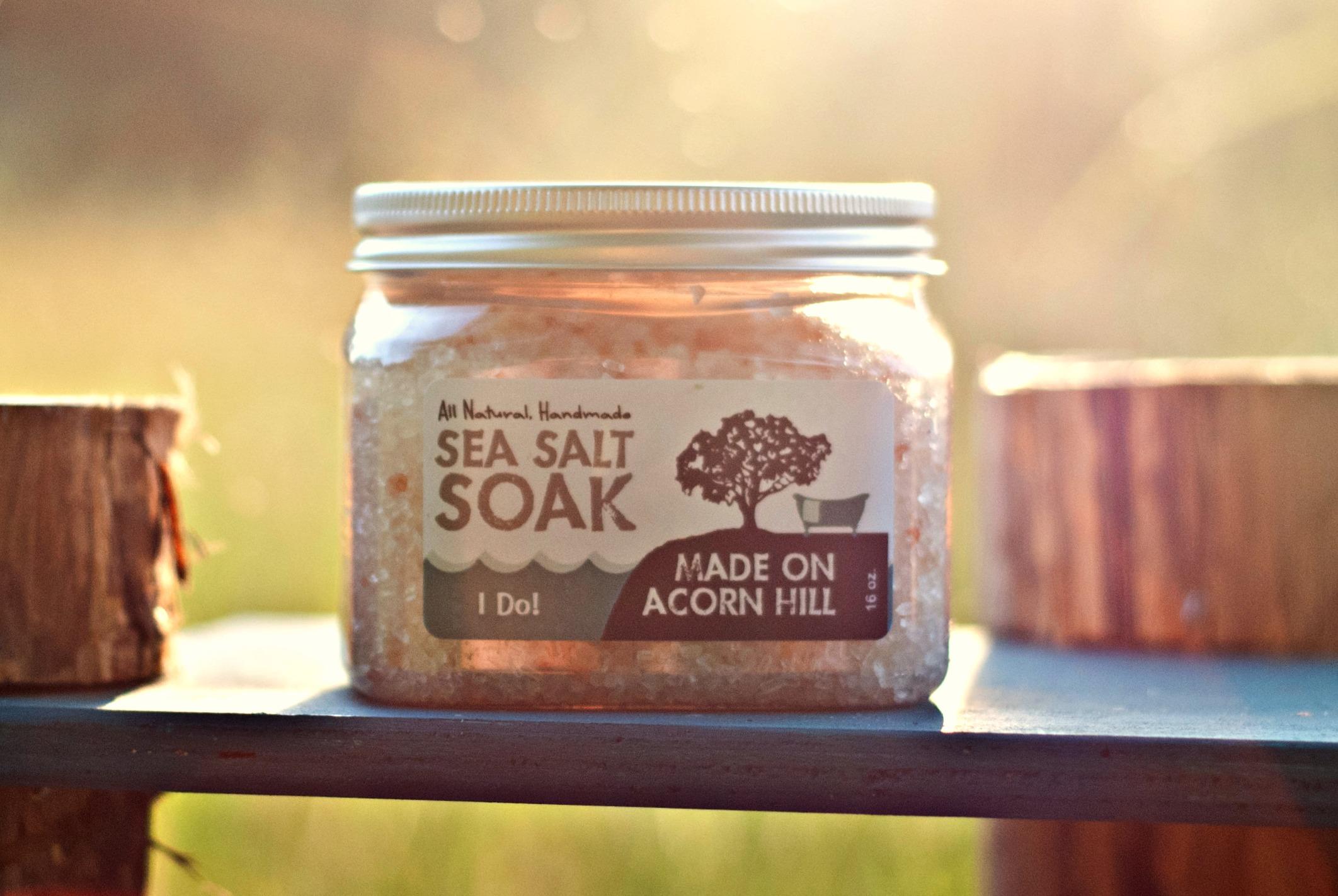Made on Acorn Hill Sea Salt Soak