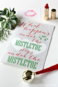 Mistletoe Love Note