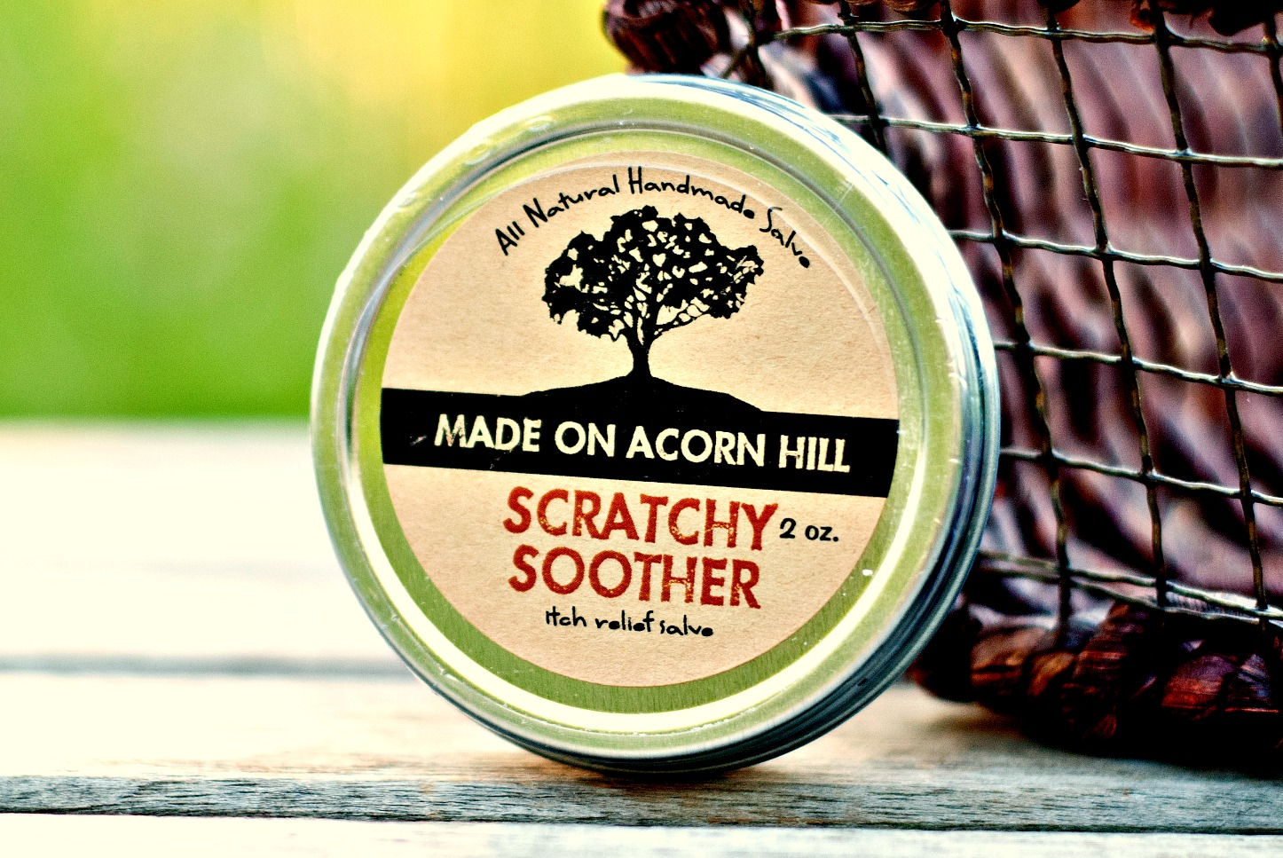 Scratchy Soother by Made on Acorn Hill