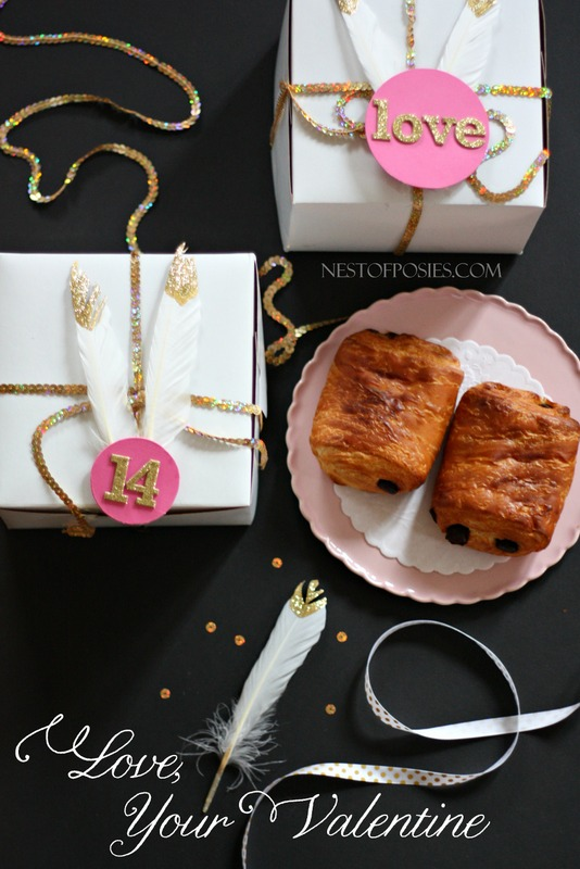 DIY Packaging for your Valentine Treats