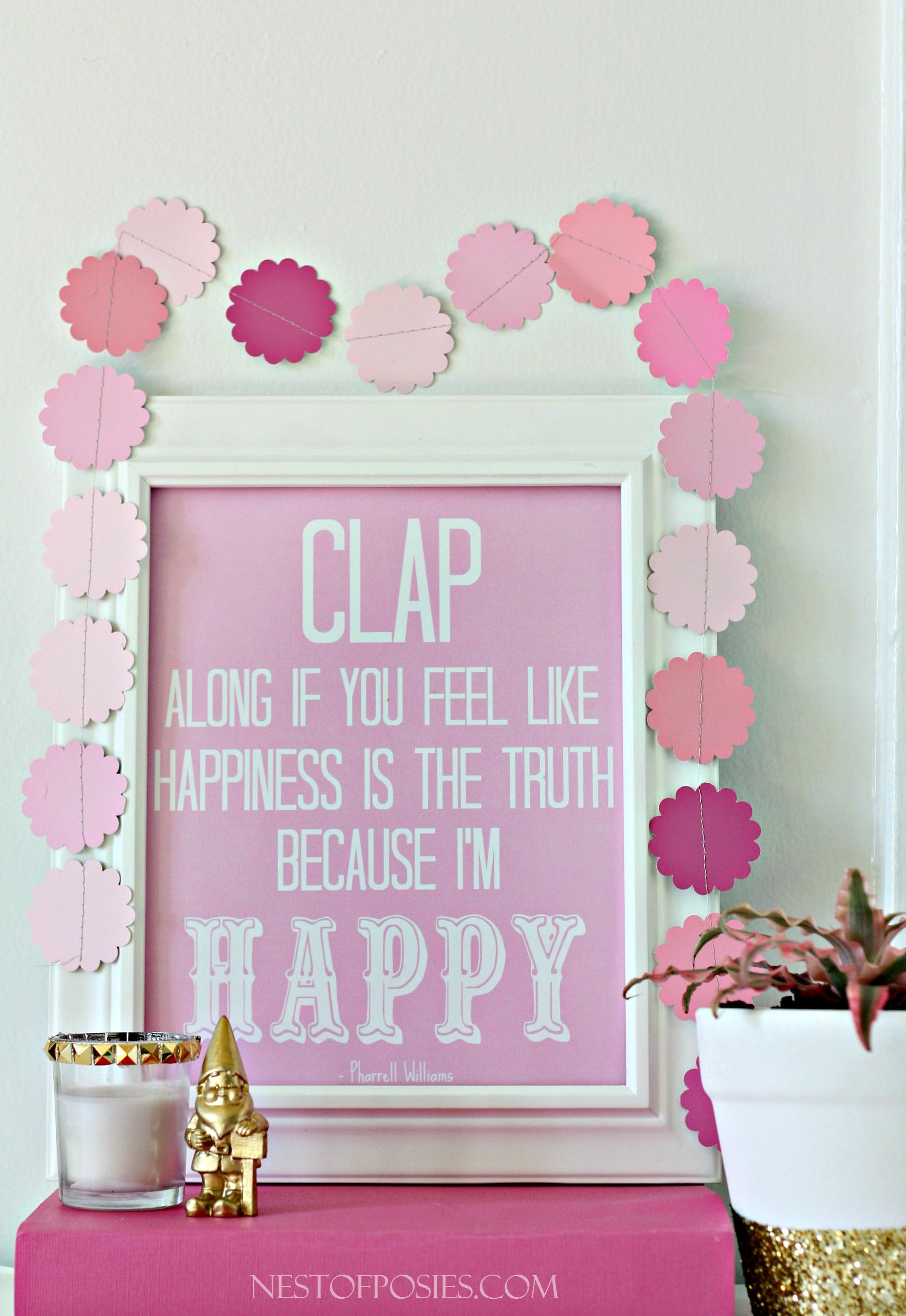 Because I'm Happy Printable