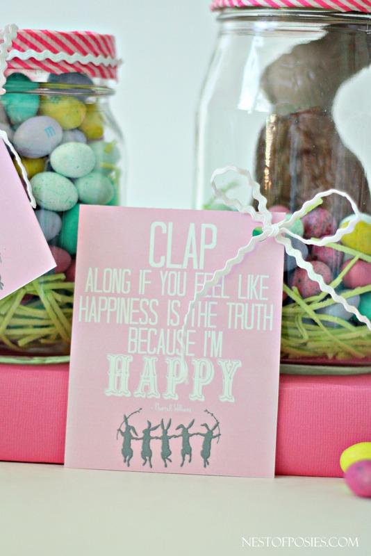 I'm Happy Easter Treat Printables