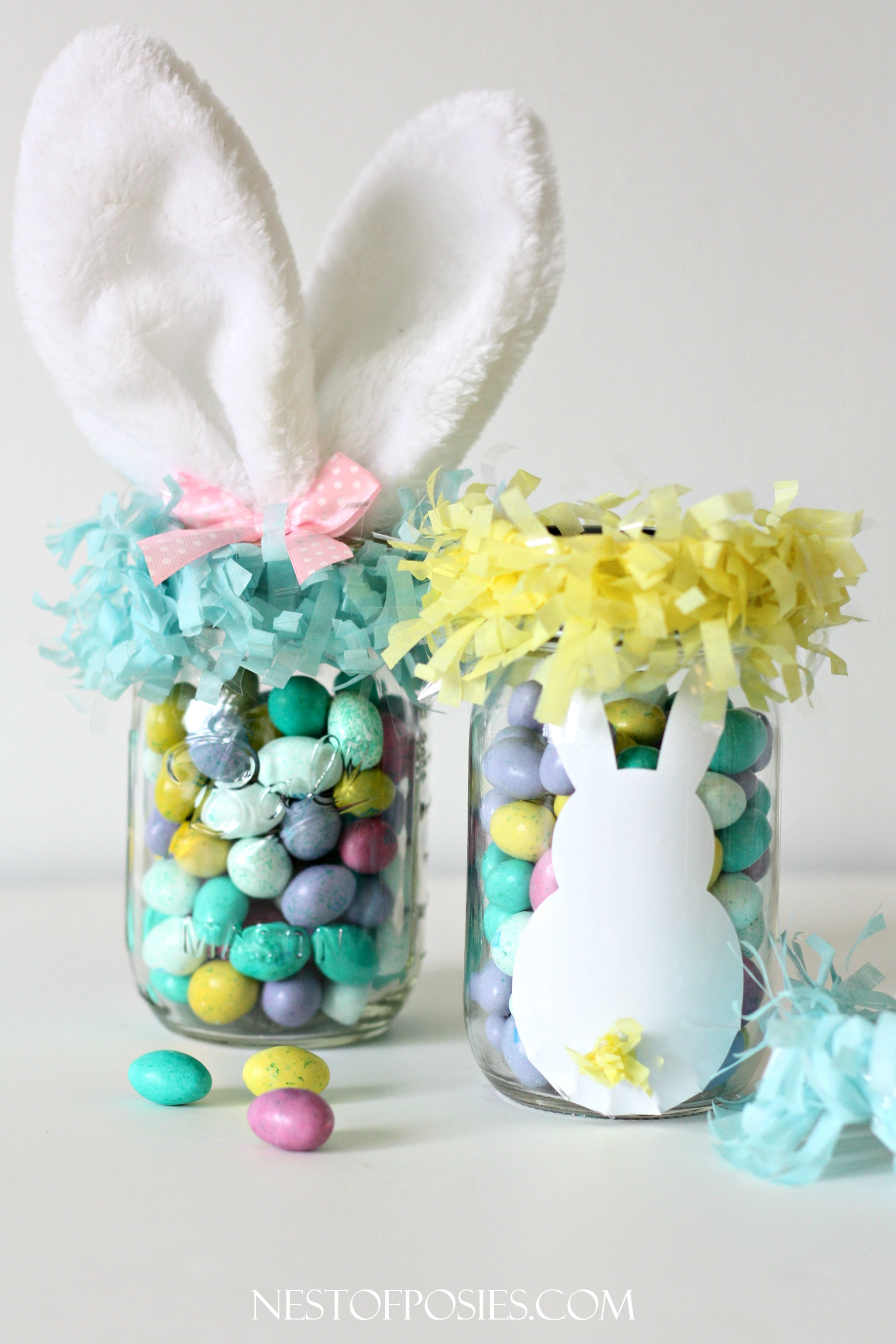 Mason jar easter basket mason jar easter basket ideas negle Image collections