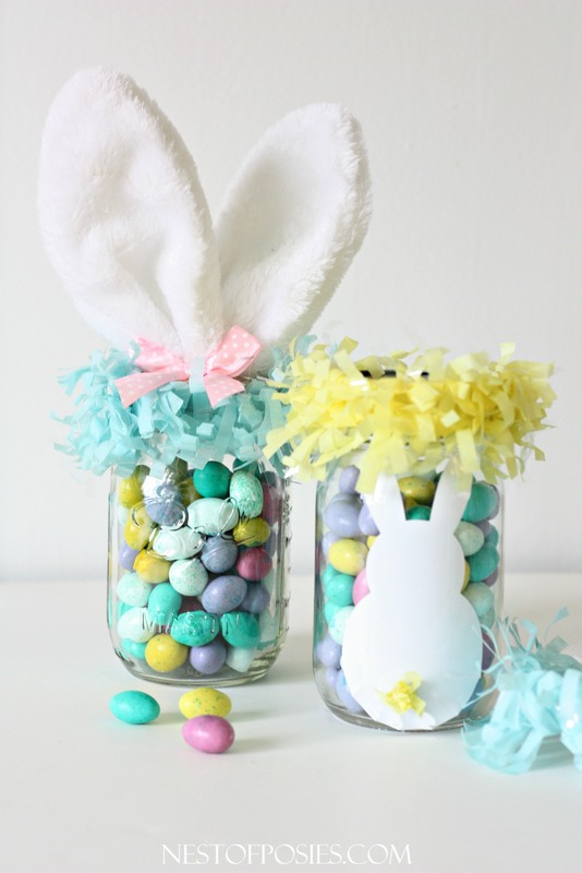 Mason jar easter basket negle Choice Image