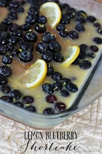 Lemon Blueberry Shortcake