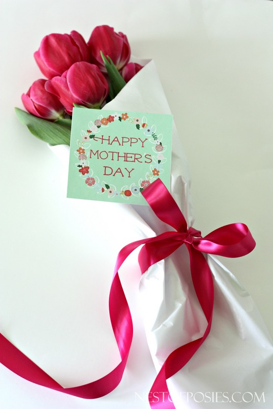 Mothers Day Printable Gift Tag