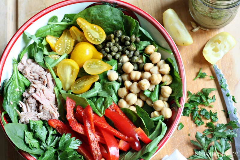 Spinach Power Salad