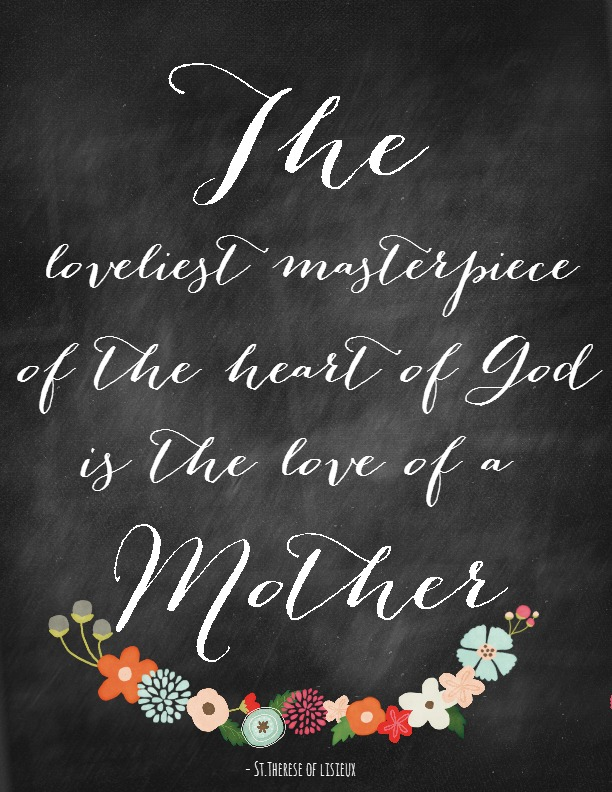 The loveliest masterpiece Mother's Day Quote