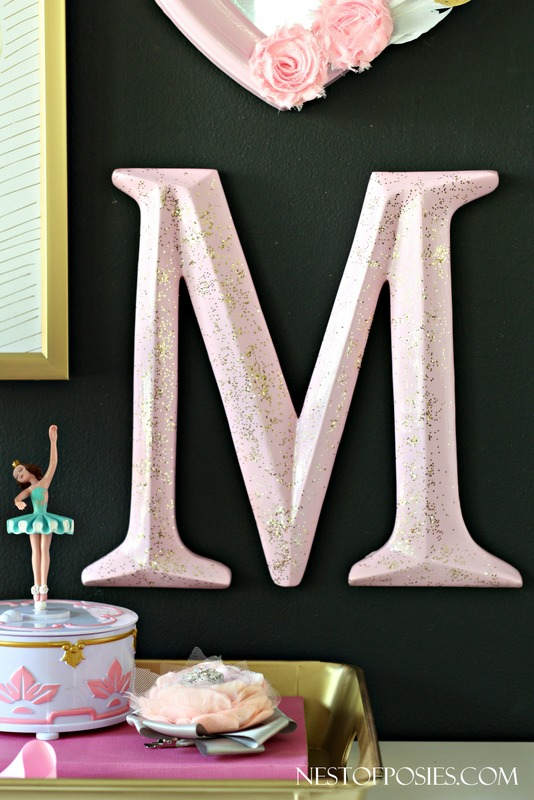 Bubblegum Pink and Pixie Dust Girl's Room Decor