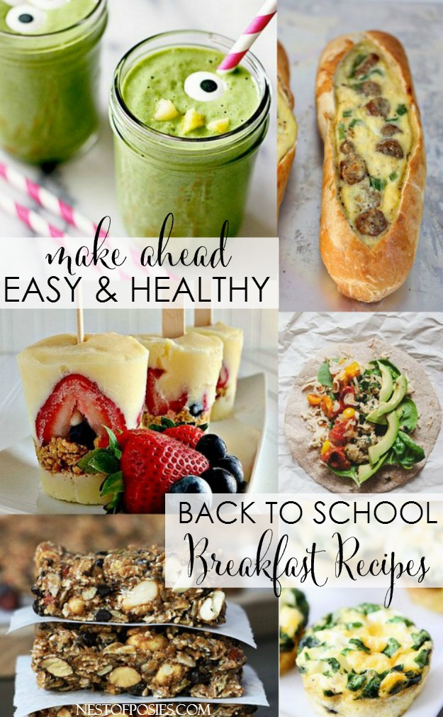Back to School Breakfast Recipes and Ideas