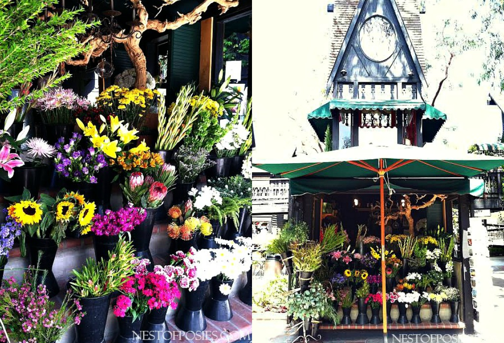 Street Market Flowers Laguna Beach
