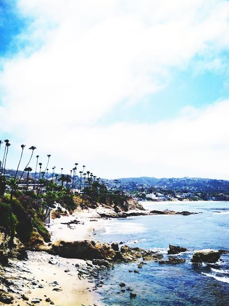 cliff walk in Laguna Beach