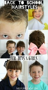 Back to School Hairstyles for boys and girls