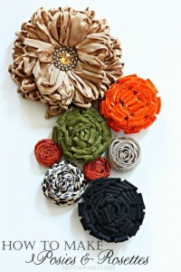 How to make a Posie and Rosette Cluster