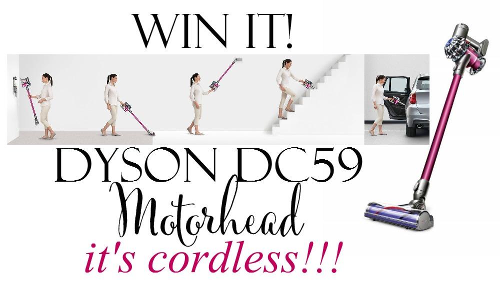 Win a DYSON DC59 Motorhead