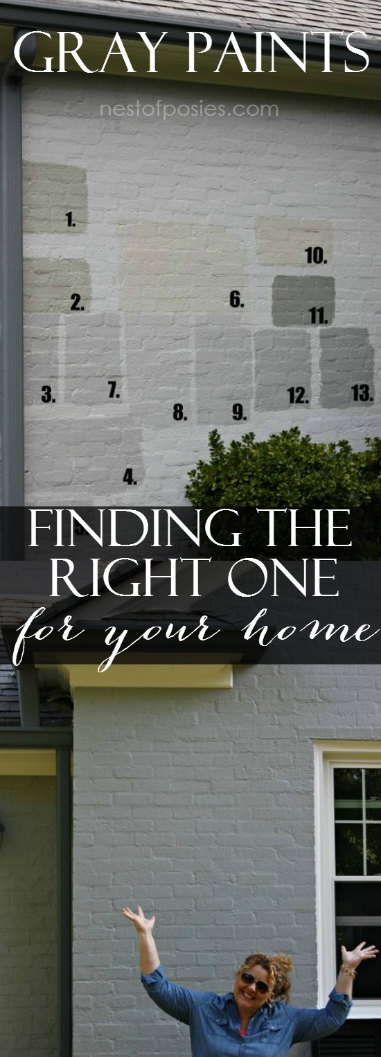 Finding The Right Furniture For A Stylish Home: Exterior Gray Paint Colors
