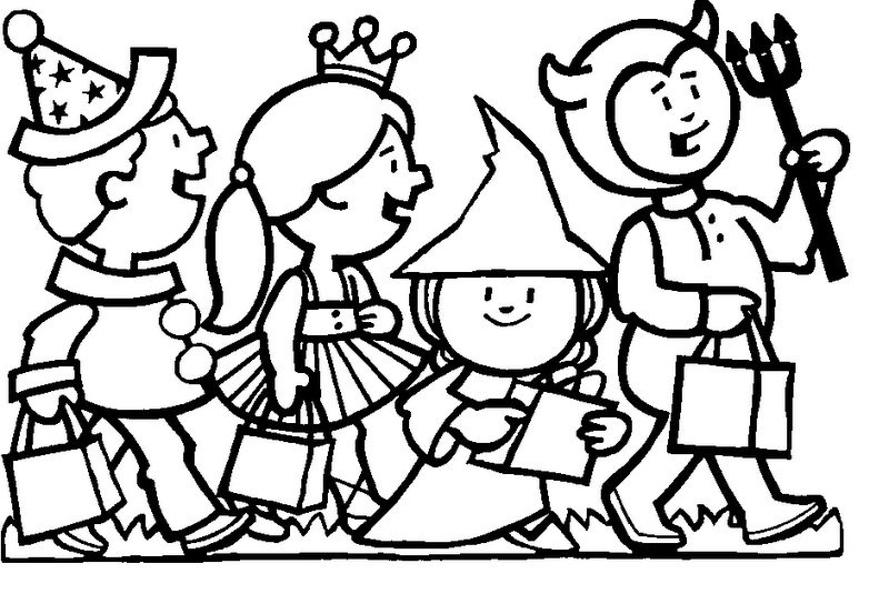 Halloween coloring pages for Outfit coloring pages