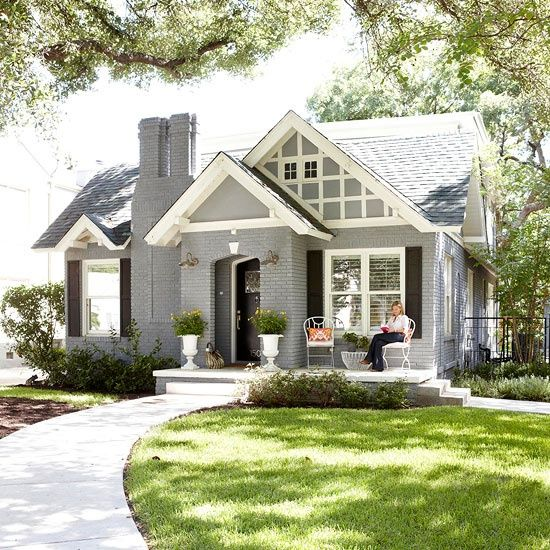 Exterior gray paint colors for Low country tiny house show
