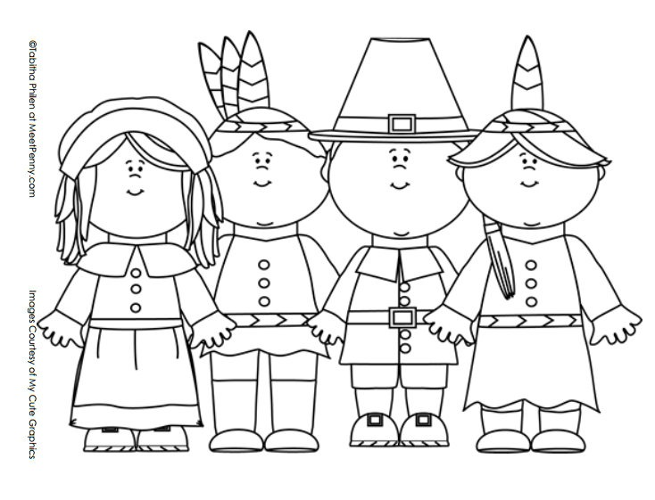 thanksgiving pre k coloring pages - photo#31