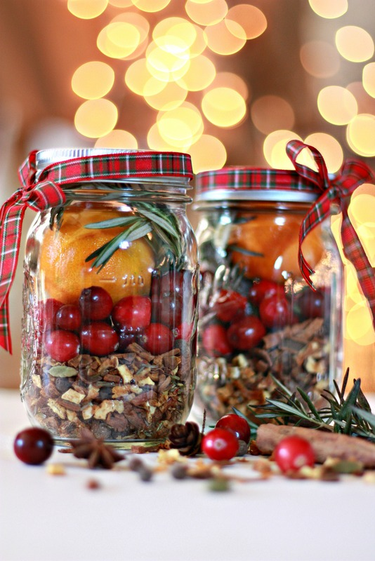 Christmas Jar Mulling Spices