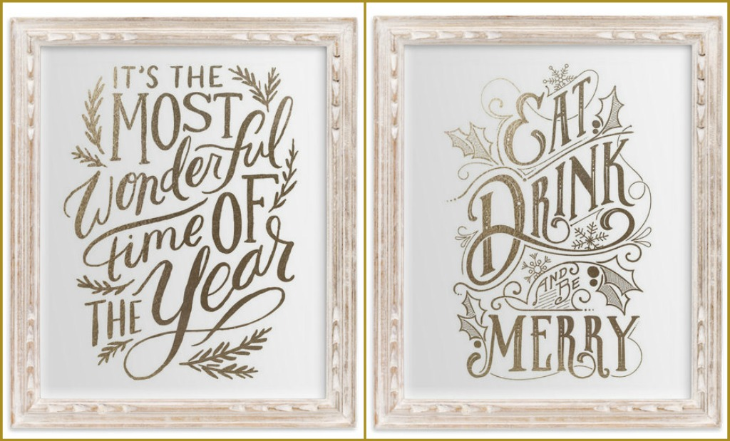 Christmas Cards and Decor from Minted