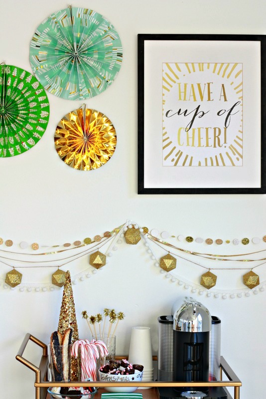 Create a coffee cart for the holidays