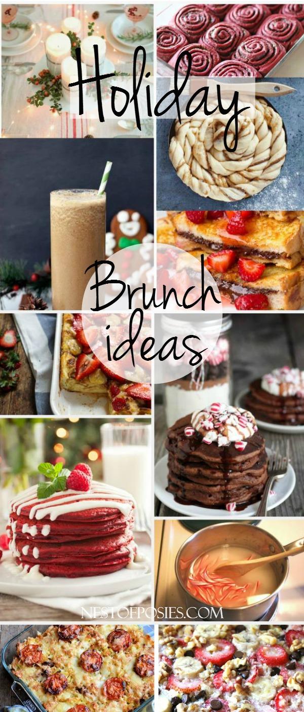 Holiday Brunch Ideas