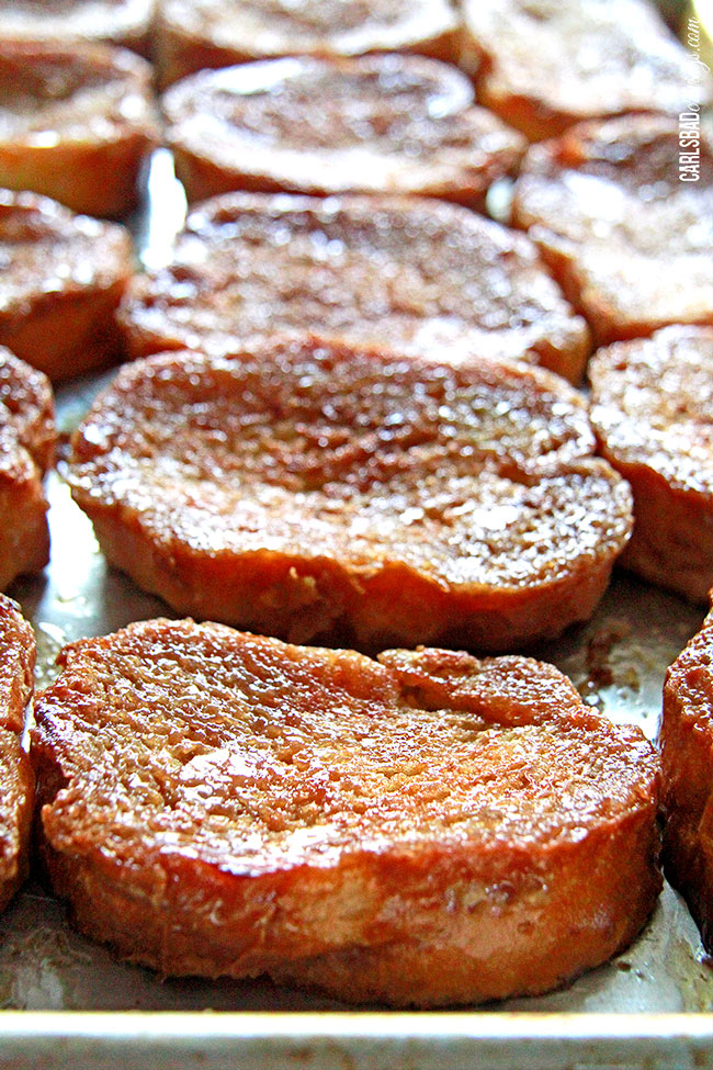 Overnite Creme Brulee French Toast
