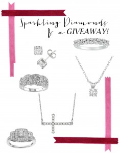 Sparkling Diamonds and a GIVEAWAY!